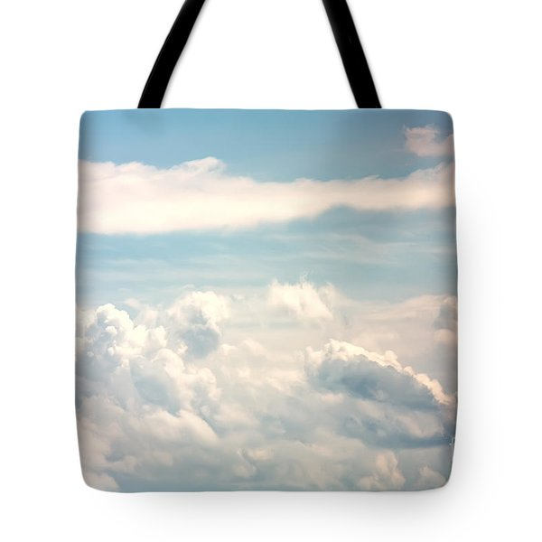 Cumulus Clouds Tote Bag