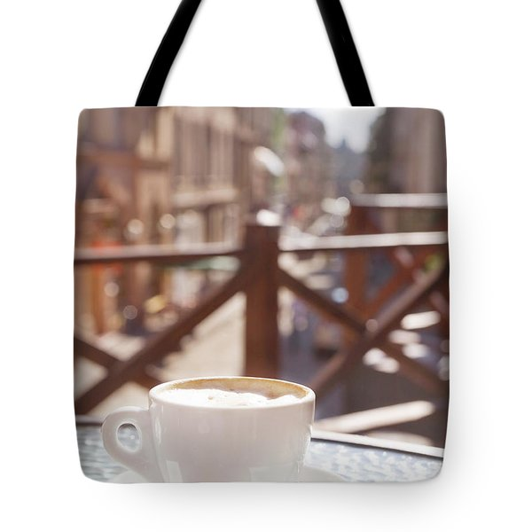 Cafe Tote Bags For Sale