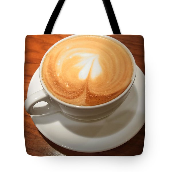 Cup Of Coffee Tote Bag by Matthias Hauser