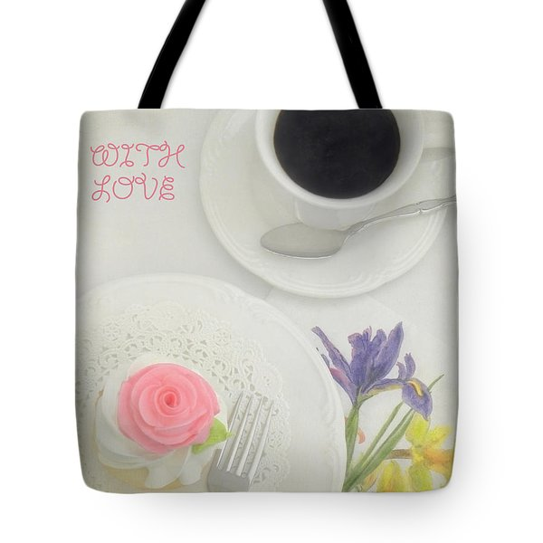 Cupcake And Coffee For Mom Tote Bag by Sandi OReilly