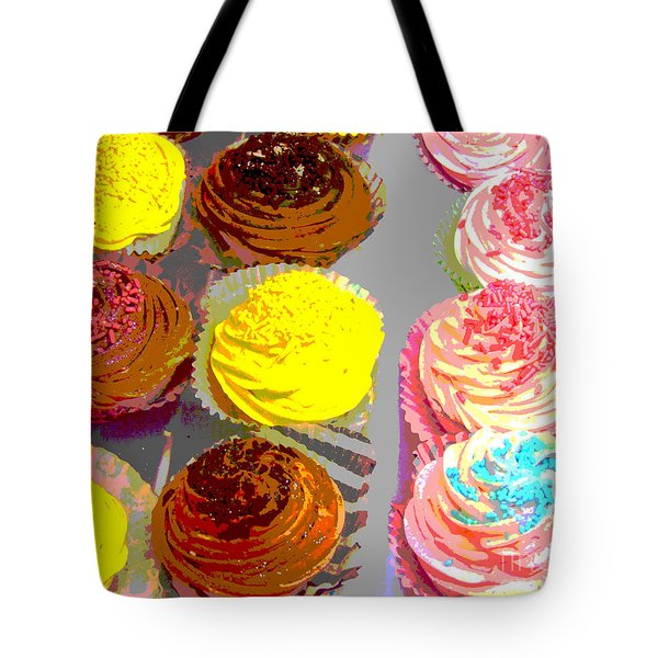 Cupcake Suite Tote Bag by Beth Saffer