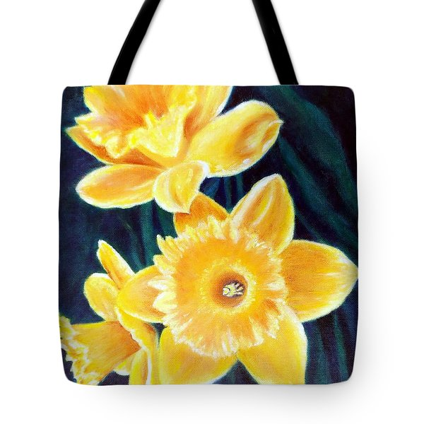 Cups Of Gold Tote Bag