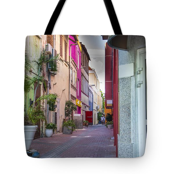 Curacao Alley Tote Bag
