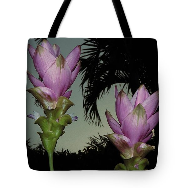 Tote Bag featuring the photograph Curcuma Hybrid Flowers by Greg Allore