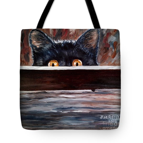 Curiosity Tote Bag by Julie Brugh Riffey