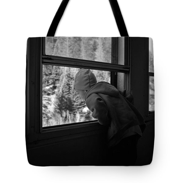Tote Bag featuring the photograph Curious by Jeremy Rhoades