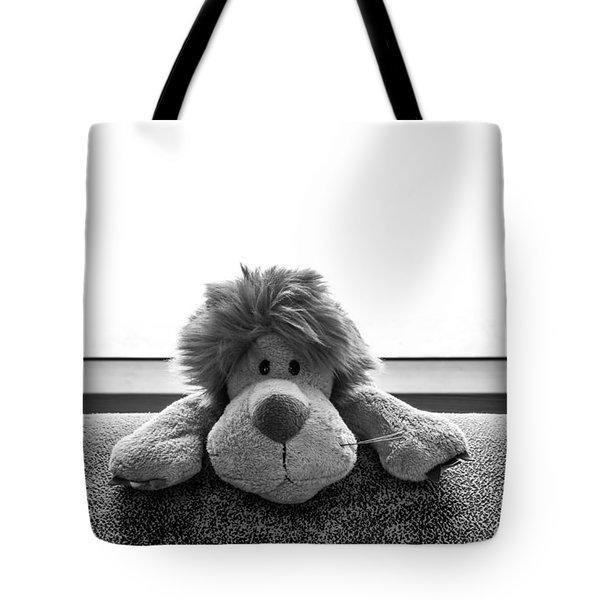 Curious Leo Tote Bag