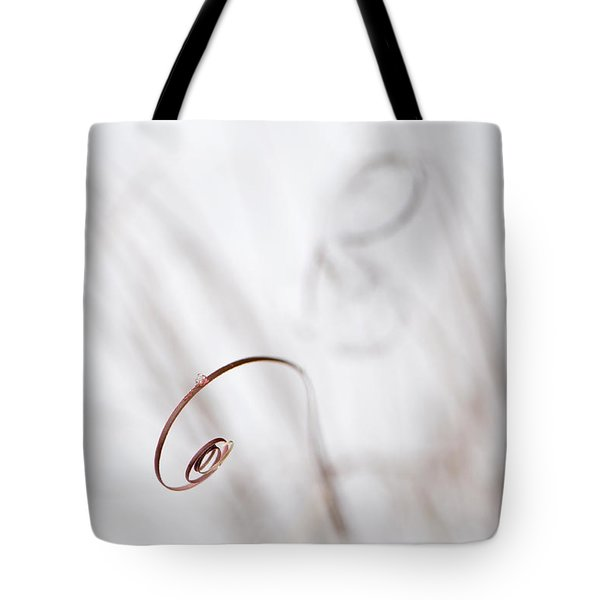 Curl Tote Bag by Anne Gilbert