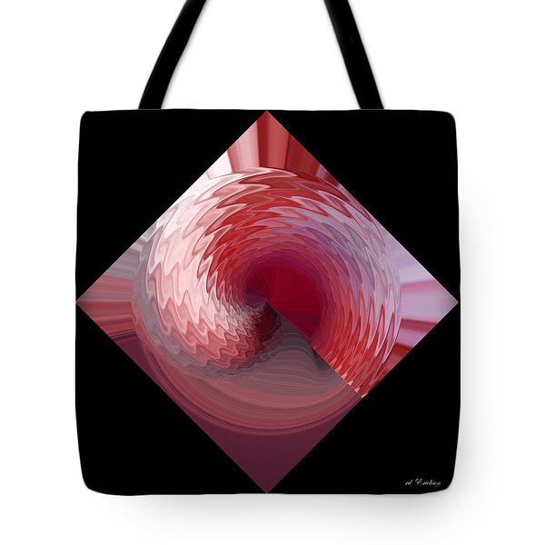 Tote Bag featuring the digital art Curl I by rd Erickson