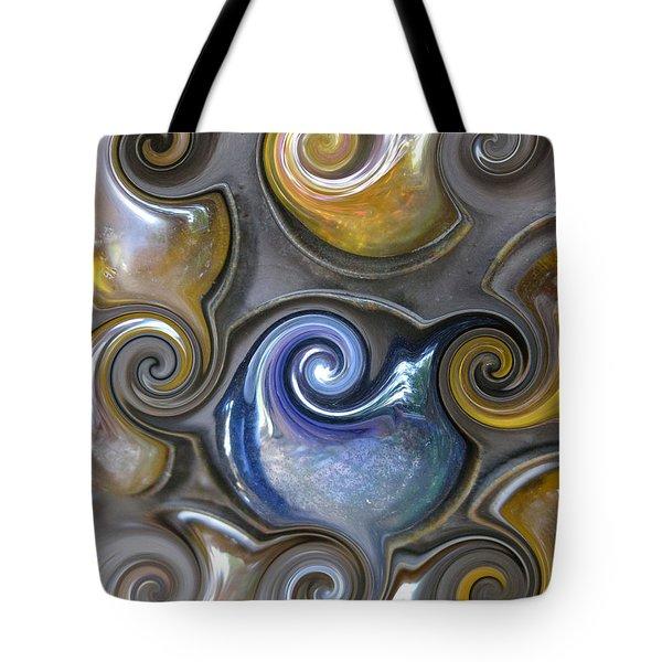 Curlicue II Tote Bag
