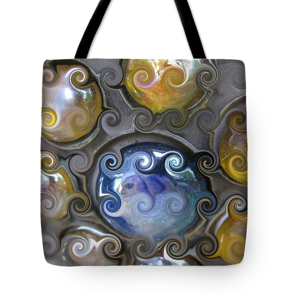 Curlicue IIi Tote Bag