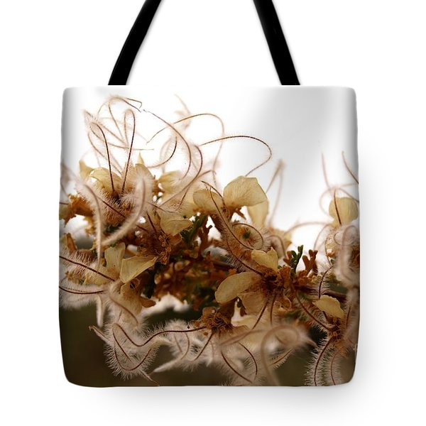 Curlleaf Mountain Mahogany Tote Bag