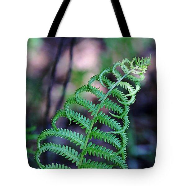 Curls Tote Bag by Debbie Oppermann