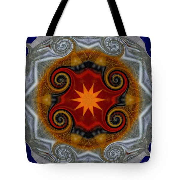 Curls Tote Bag by Donna Blackhall