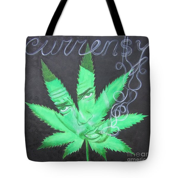 Currensy Tote Bag
