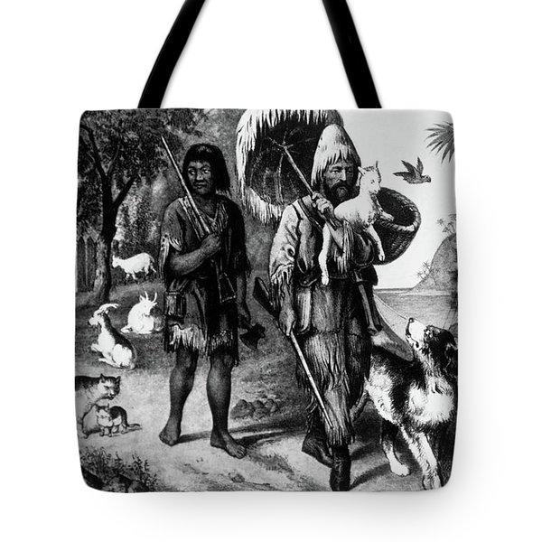 Currier & Ives Illustration Robinson Tote Bag