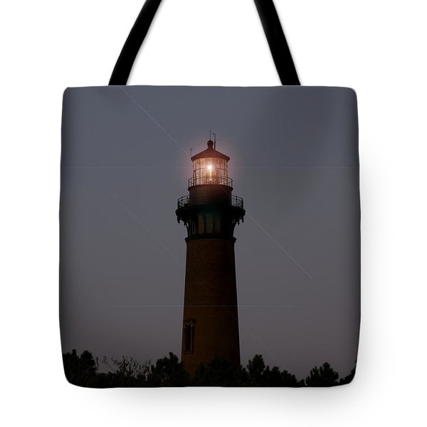 Tote Bag featuring the photograph Currituck Lighthouse by Greg Reed