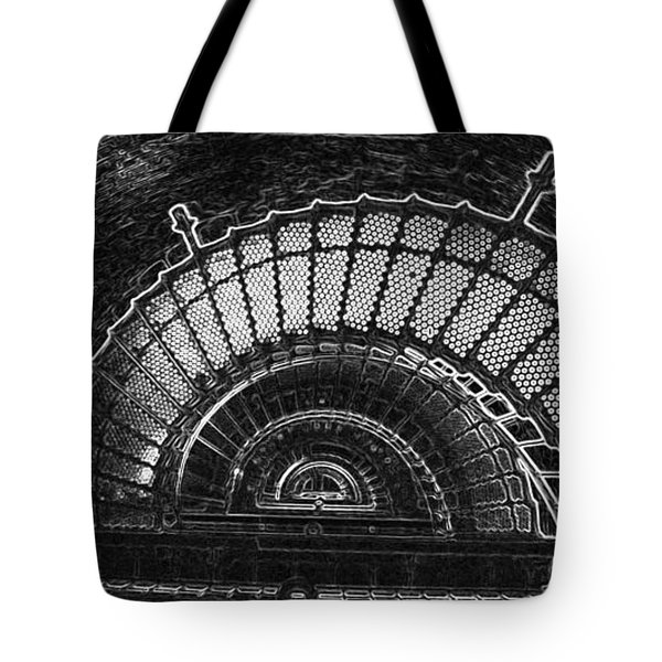 Currituck Lighthouse Stairs Tote Bag
