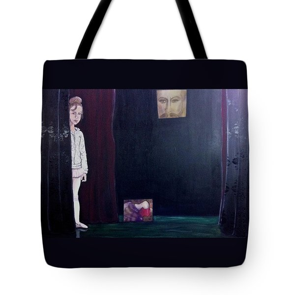 Curtain Tote Bag