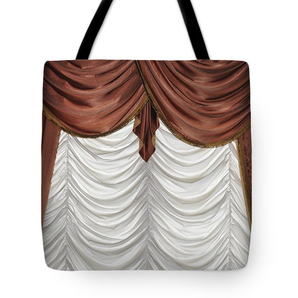 Curtain Tote Bag by Matthias Hauser