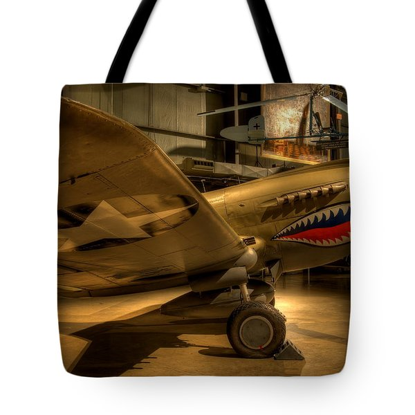 Curtiss P-40 Warhawk Tote Bag