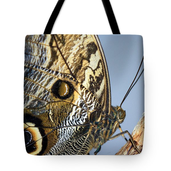 Curve Of A Butterfly Tote Bag