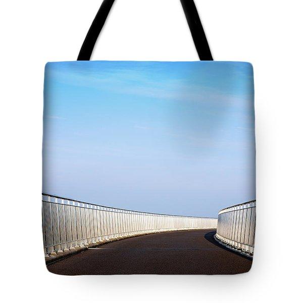 Curved Bridge Tote Bag