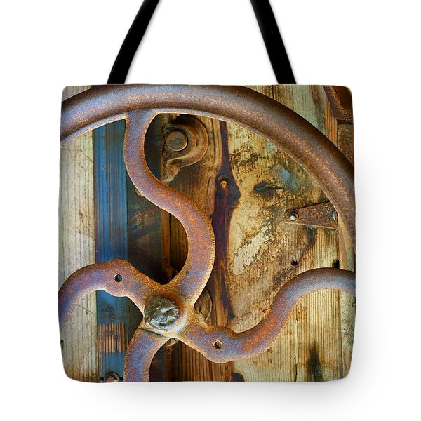 Curves And Lines Tote Bag by Stephen Anderson