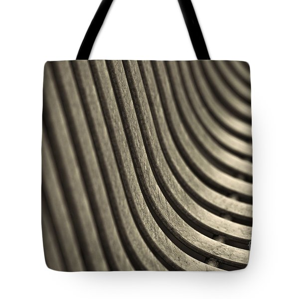 Curves I. Tote Bag by Clare Bambers