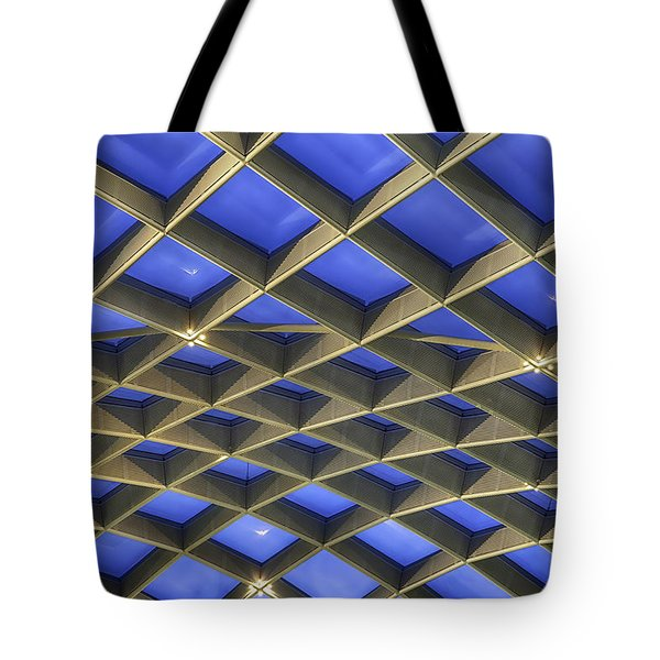 Curvilinear Skylight Structure  Tote Bag