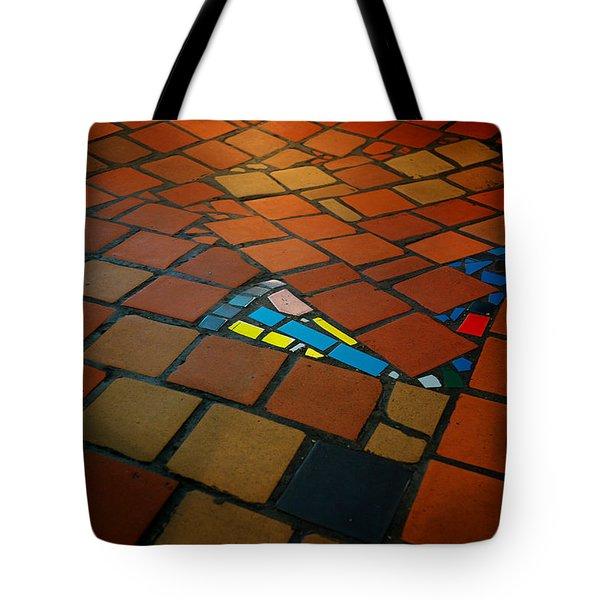 Curvy Floor Tote Bag by Ivan Slosar