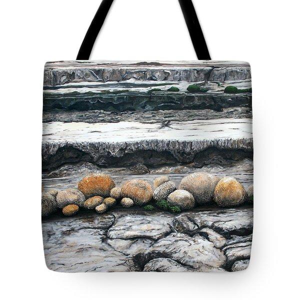 Cushion Bush Dam Tote Bag by Lyndsey Hatchwell