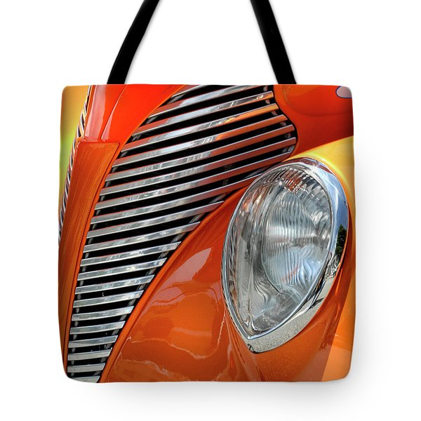 Tote Bag featuring the photograph Custom Car Detail by Dave Mills