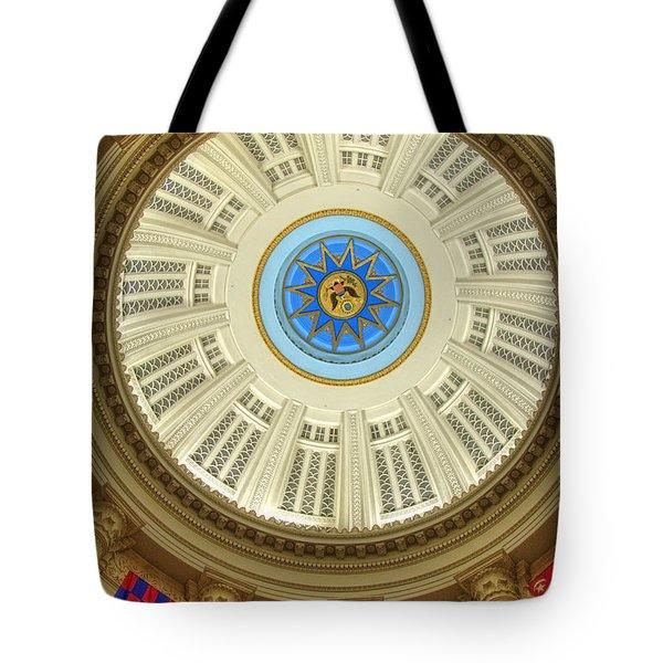 Custom House Dome Tote Bag by Joann Vitali