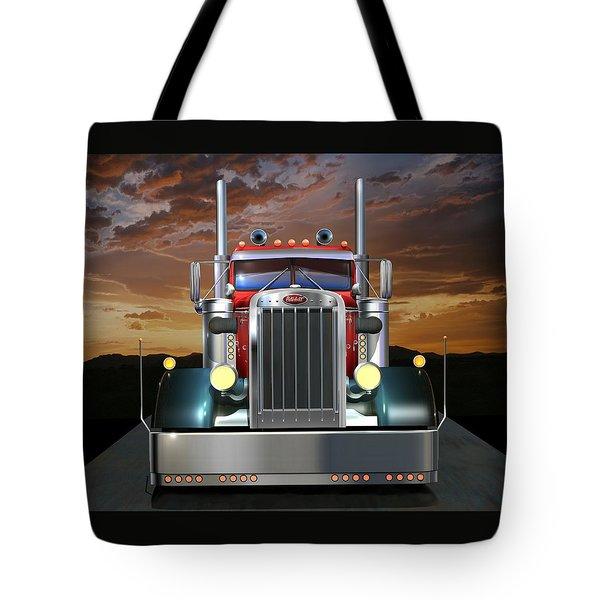 Custom Peterbilt Tote Bag