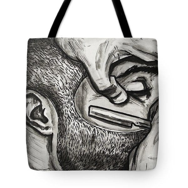 Cut Close And Personal Tote Bag by The Styles Gallery
