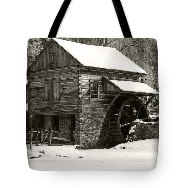 Cuttalossa In Winter Iv Tote Bag