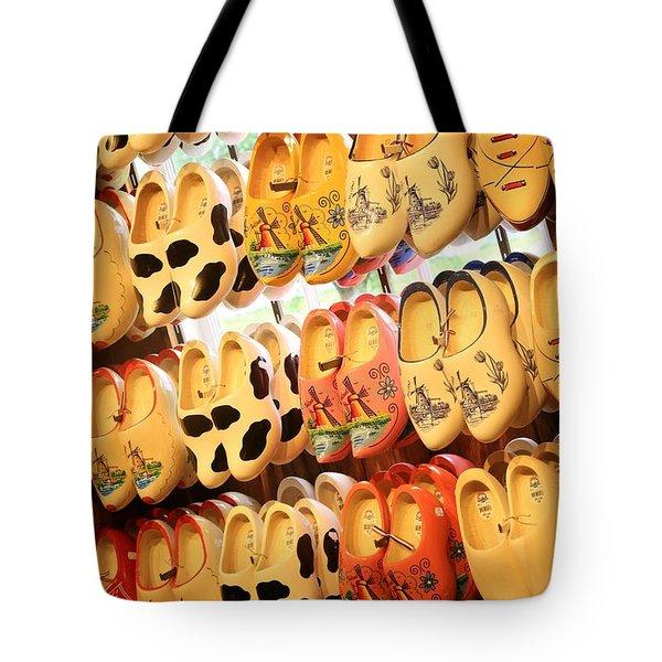 Cute Clogs Tote Bag by Carol Groenen