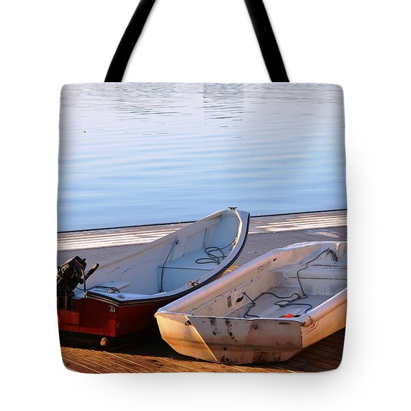 Cute Couple Tote Bag by Mike Ste Marie
