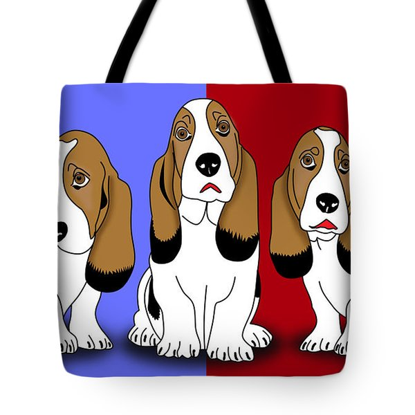 Cute Dogs 2 Tote Bag