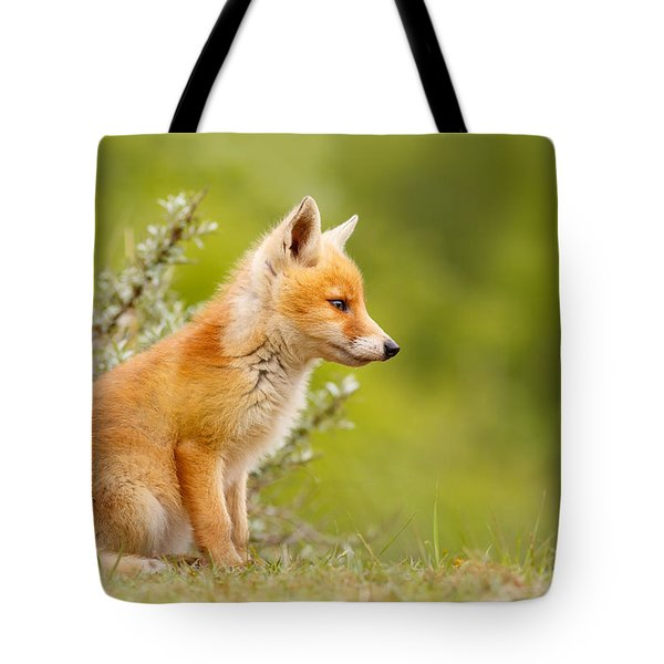 Pinocchio - Cute Fox Kit Tote Bag