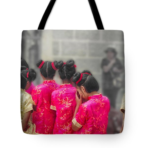 Cute Girls Tote Bag