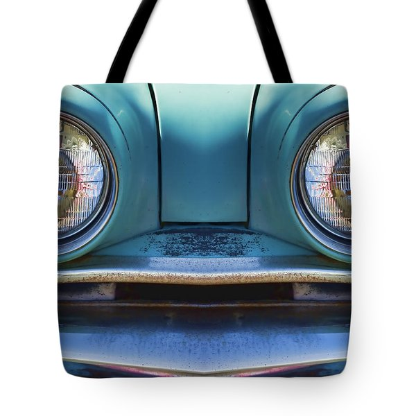 Cute Little Car Faces Number 1 Tote Bag