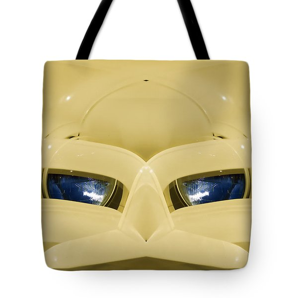 Cute Little Car Faces Number 3 Tote Bag