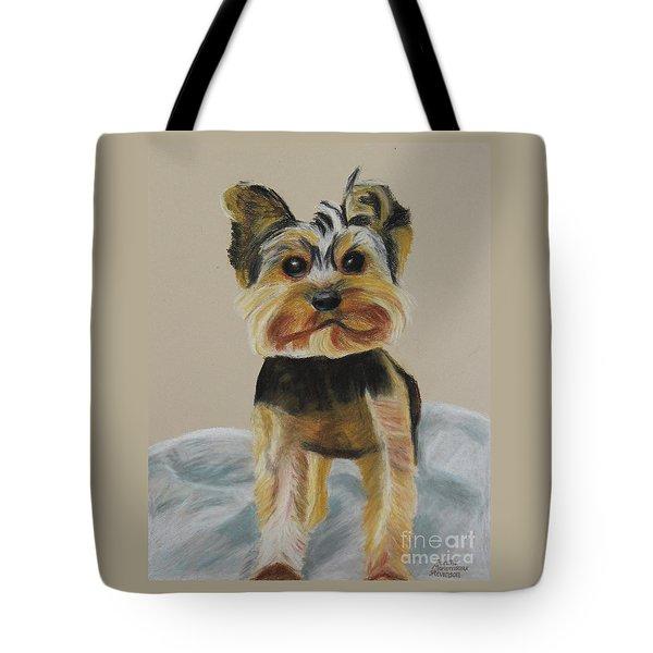 Cute Yorkie Tote Bag