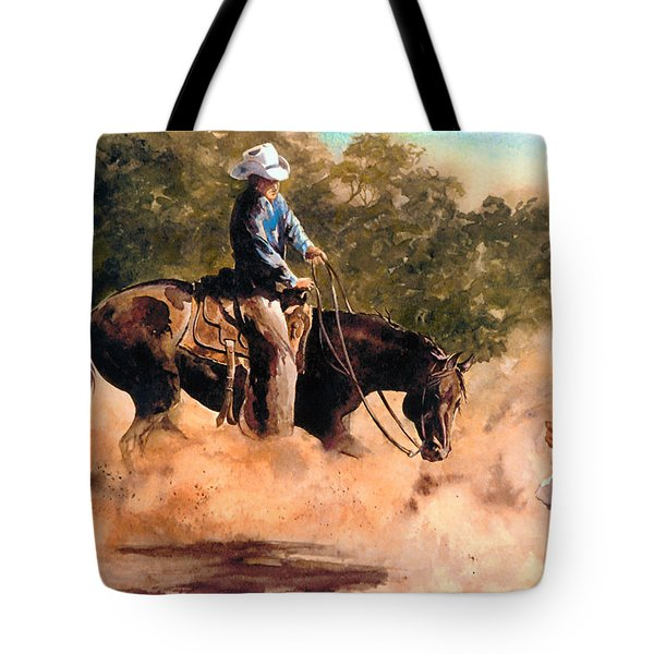 Cutter At Work Tote Bag