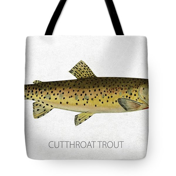 Cutthroat Trout Tote Bag by Aged Pixel