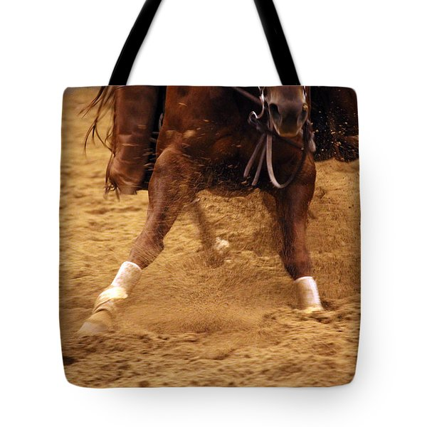 Cutting Horse 6 Tote Bag