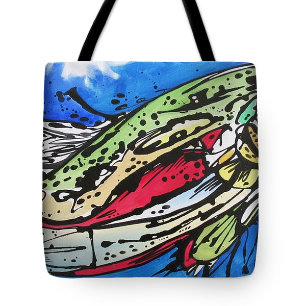 Tote Bag featuring the painting Cutty by Nicole Gaitan