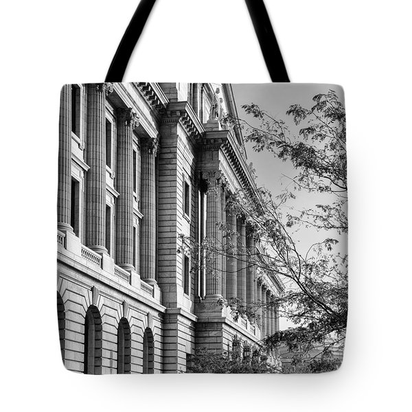 Cuyahoga County Court House Tote Bag
